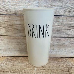 4/$20🍄 RAE DUNN Ceramic Travel DRINK Tumbler